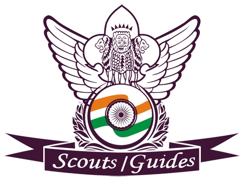 Scout guide logo india.